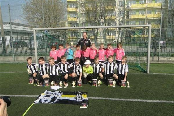 1 i 3 miejsce Juventus Academy Bydgoszcz