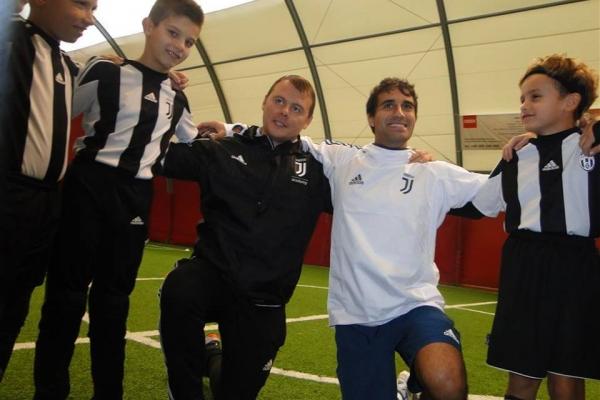 Wizyta Matteo Mercuri w Juventus Academy Bydgoszcz