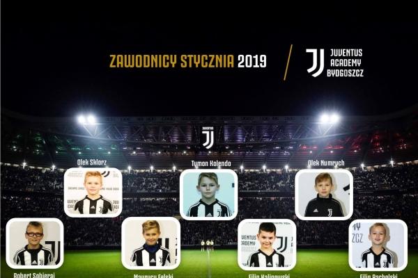 Zawodnicy miesąca Juventus Academy Bydgoszcz- Styczeń
