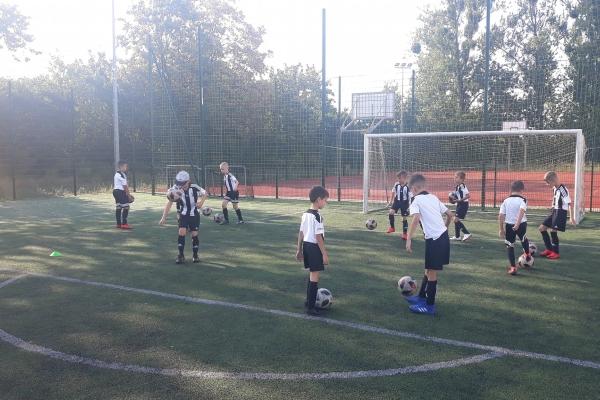 Drugi dzień obozu dochodzeniowego z Juventus Academy Bydgoszcz