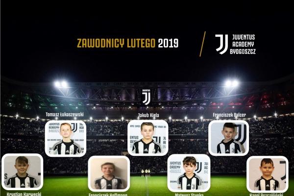 Zawodnicy miesąca Juventus Academy Bydgoszcz- Luty