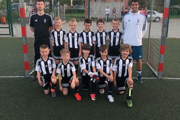 Pierwszy dzień wizyty Matteo Mercuri w Juventus Academy Bydgoszcz