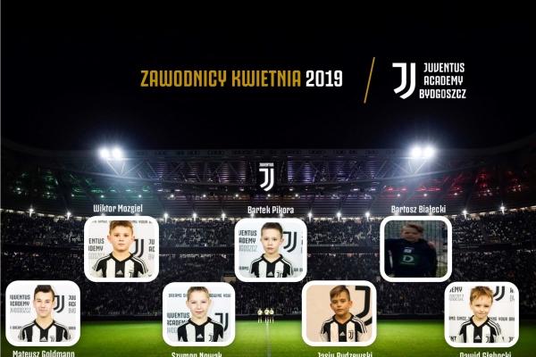 Zawodnicy miesąca Juventus Academy Bydgoszcz- Kwiecień