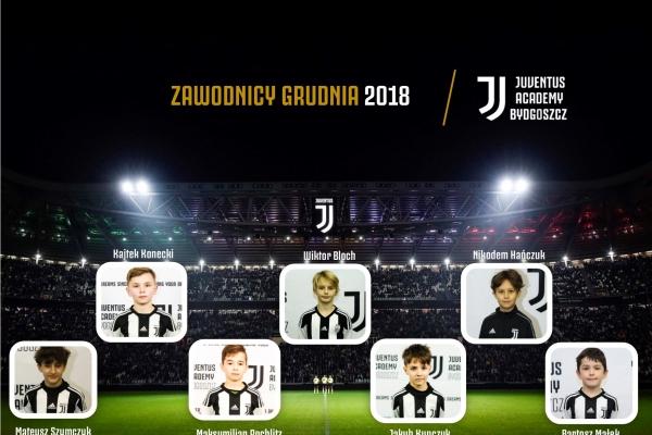 Zawodnicy miesąca Juventus Academy Bydgoszcz- Grudzień
