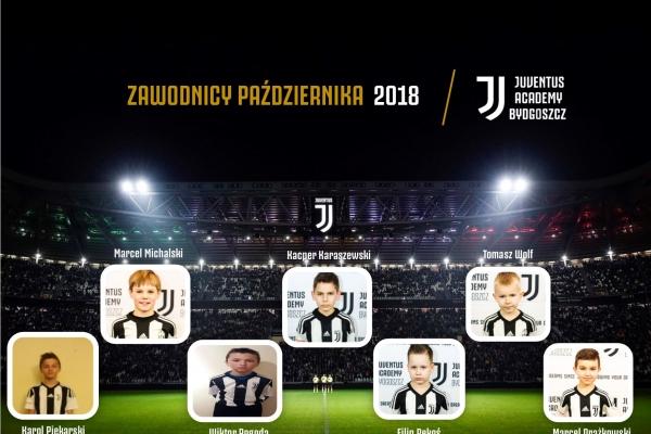 Zawodnicy miesąca Juventus Academy Bydgoszcz- Paźdzernik