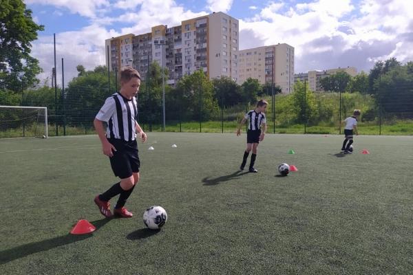 Drugi i trzeci dzień obozu dochodzeniowego z Juventus Academy Bydgoszcz