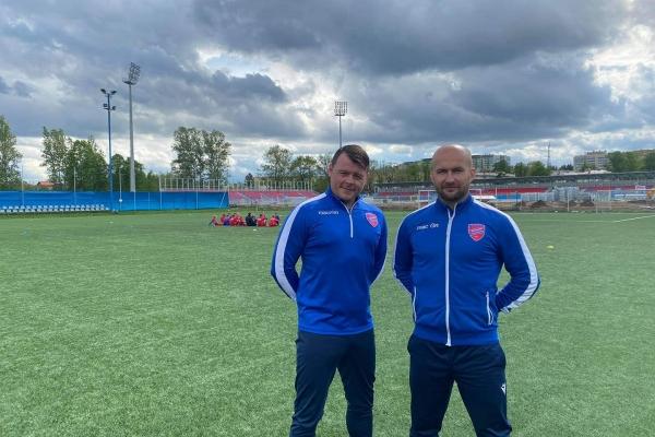 Trenerzy na stażu w Rakowie Częstochowa