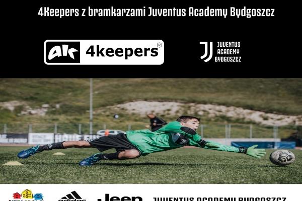 4Keepers z bramkarzami Juventus Academy Bydgoszcz